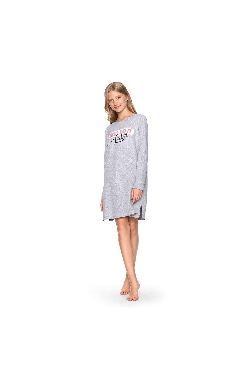 Dívčí noční košile YOUNG FASHION, 70478 30, šedá
