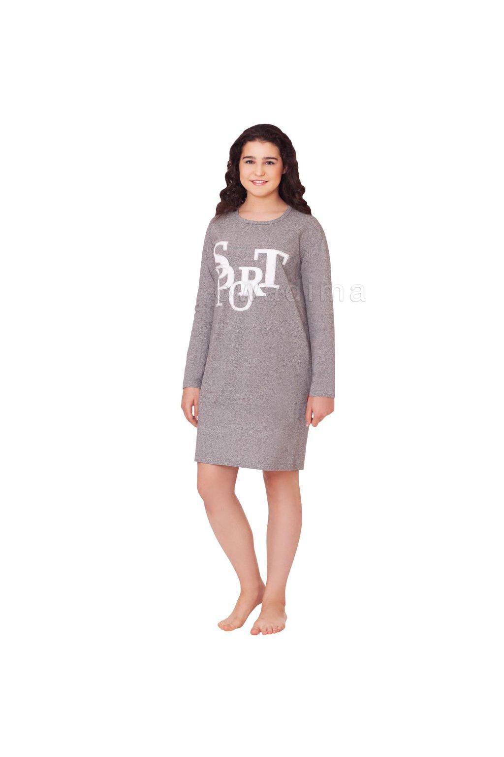Dívčí noční košile YOUNG FASHION, 70462 399, šedá