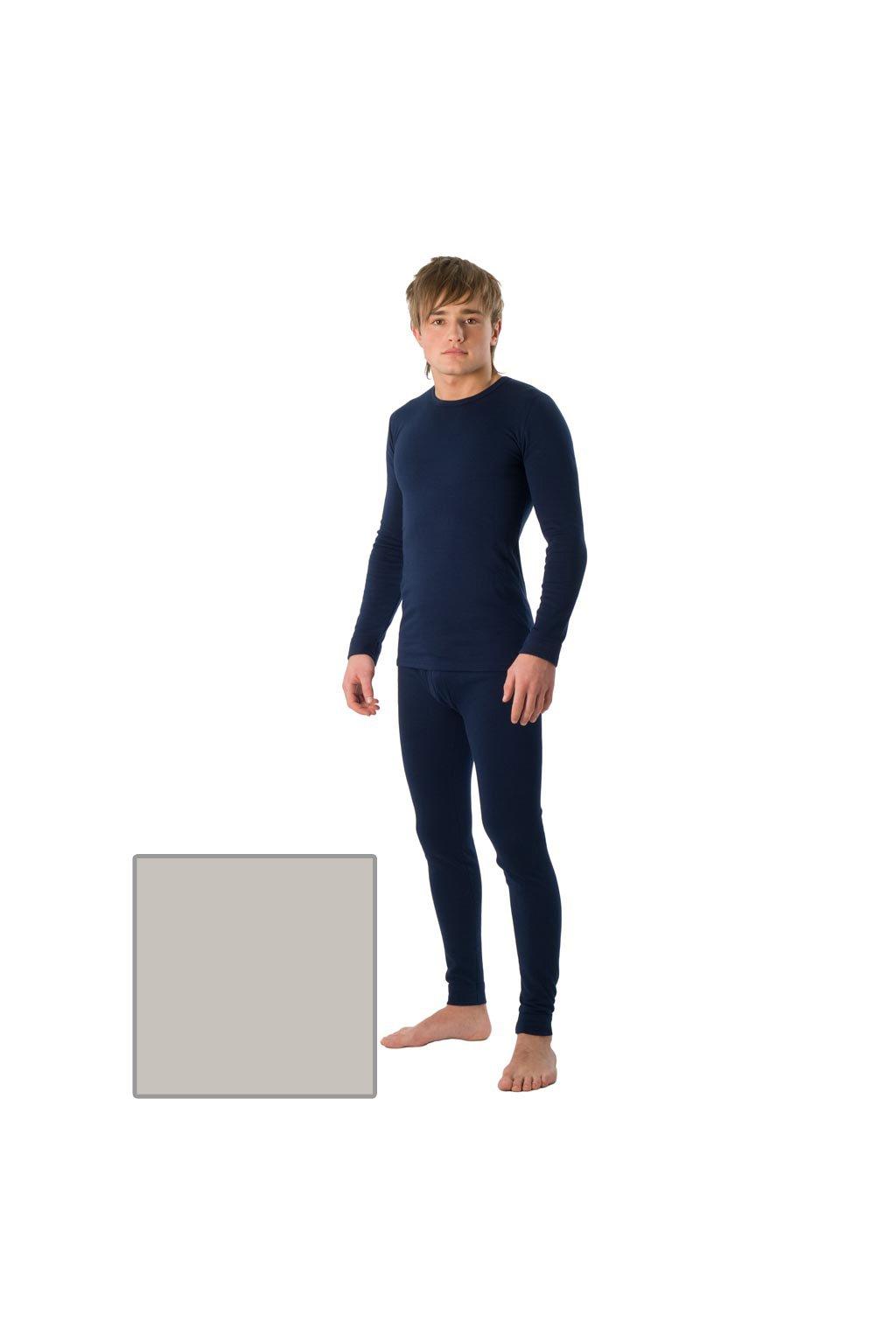Chlapecké tričko s dlouhým rukávem YOUNG FASHION, 60202 30, šedá