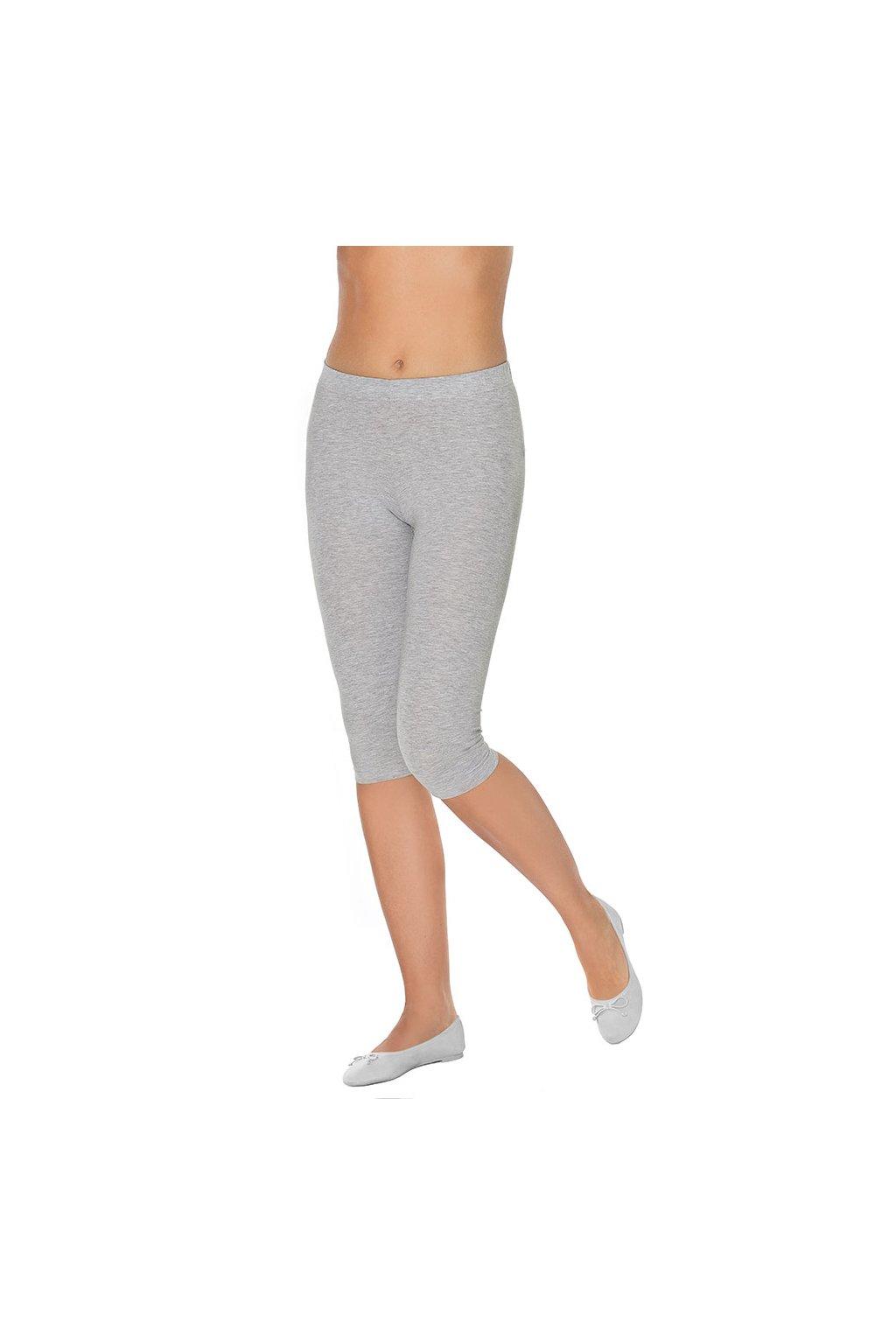 Dámské legíny s krátkými nohavicemi, 10108 30, šedá