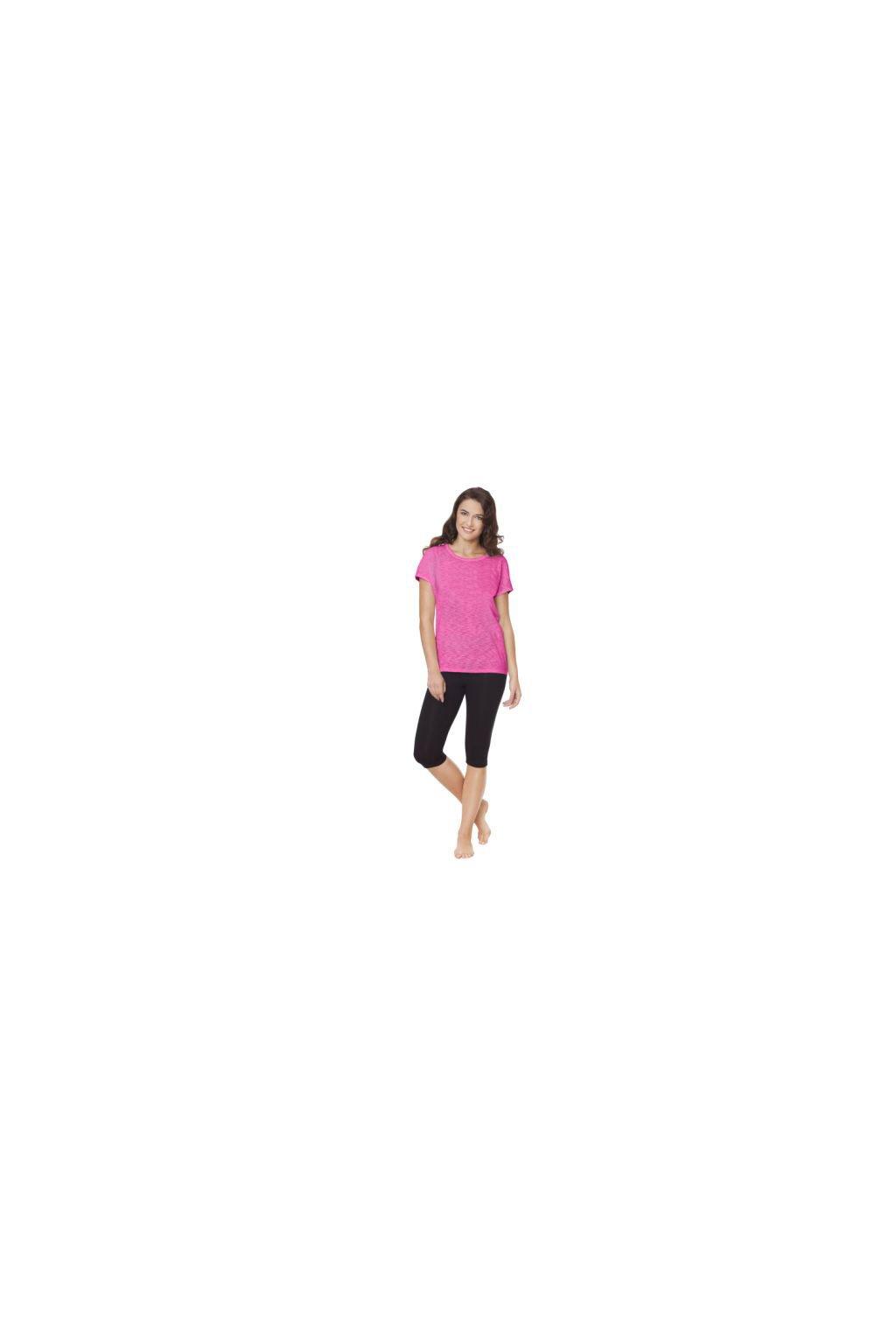 Dámské legíny s krátkými nohavicemi, 10108 29, černá