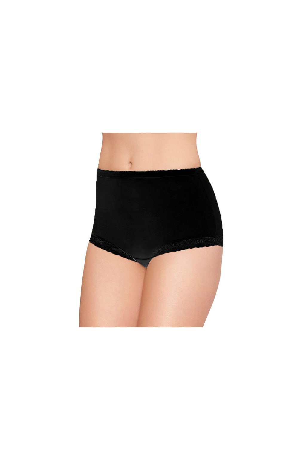 Dámské kalhotky, 100ROKSANA 29, černá