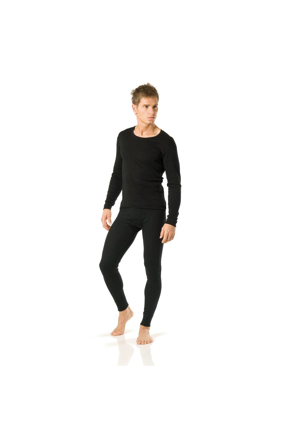 Chlapecké tričko s dlouhým rukávem YOUNG FASHION, 60205 29, černá