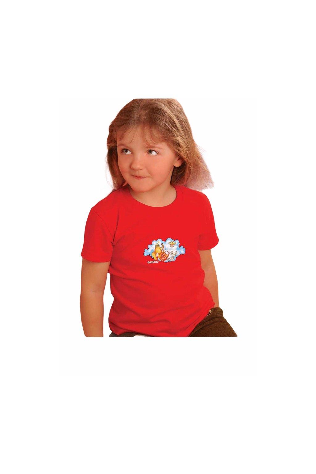 Dívčí tričko s krátkým rukávem, 30304 510, mix barev