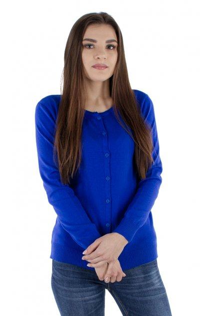 Dámský svetr rozpínací, 10646 246, modrá
