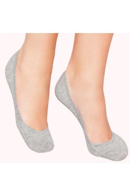 Ponožky do balerín, 1A001 30, šedá
