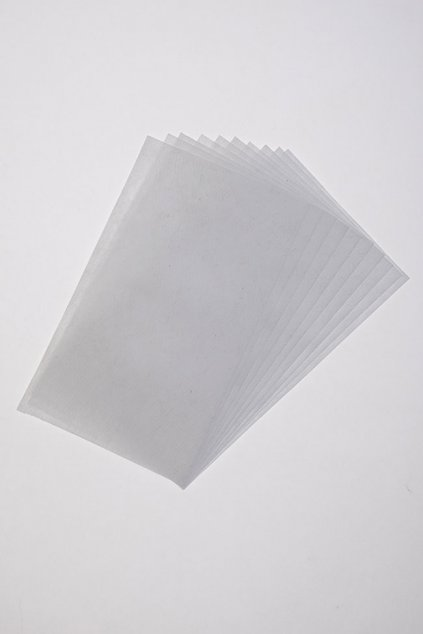 Filtr do roušky s kapsou - účinná ochrana před viry, bakteriemi a plísněmi - balení 10 ks, 789-1, Bílá