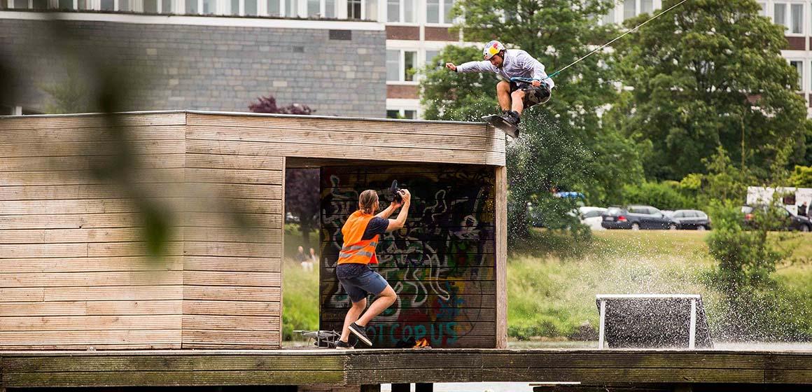 wakeboardy i na střechu :D