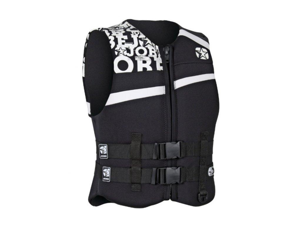 Jobe Combat Vest Black (Velikost vesty M)