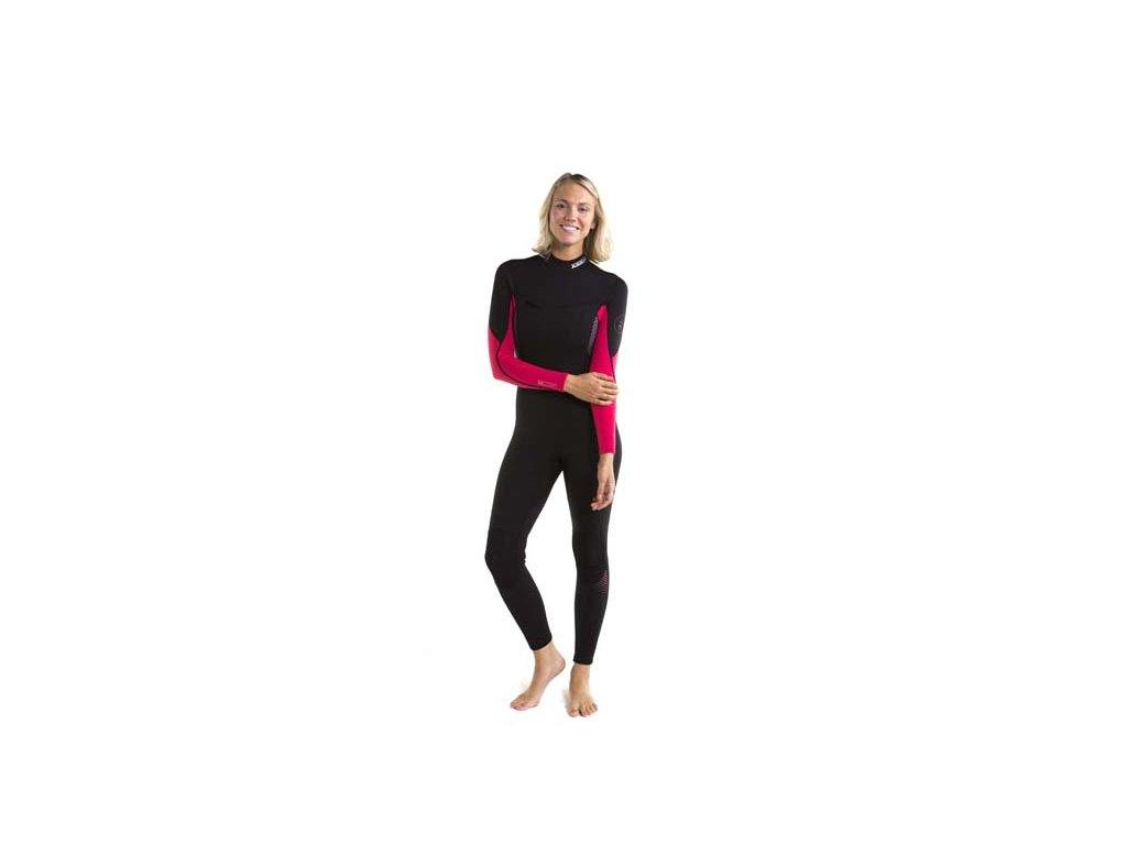 Jobe Sofia Fullsuit 3 2MM Hot Pink (velikost neopren damsky XS)