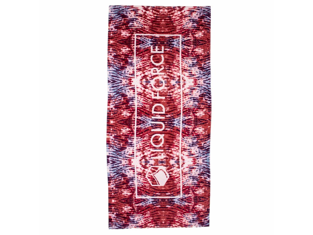 towel tie dye sublimated