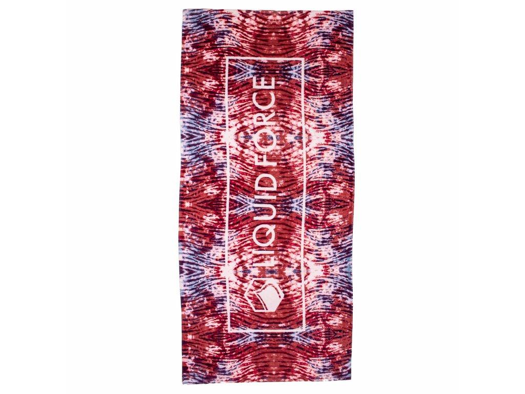 towel tie dye sublimated