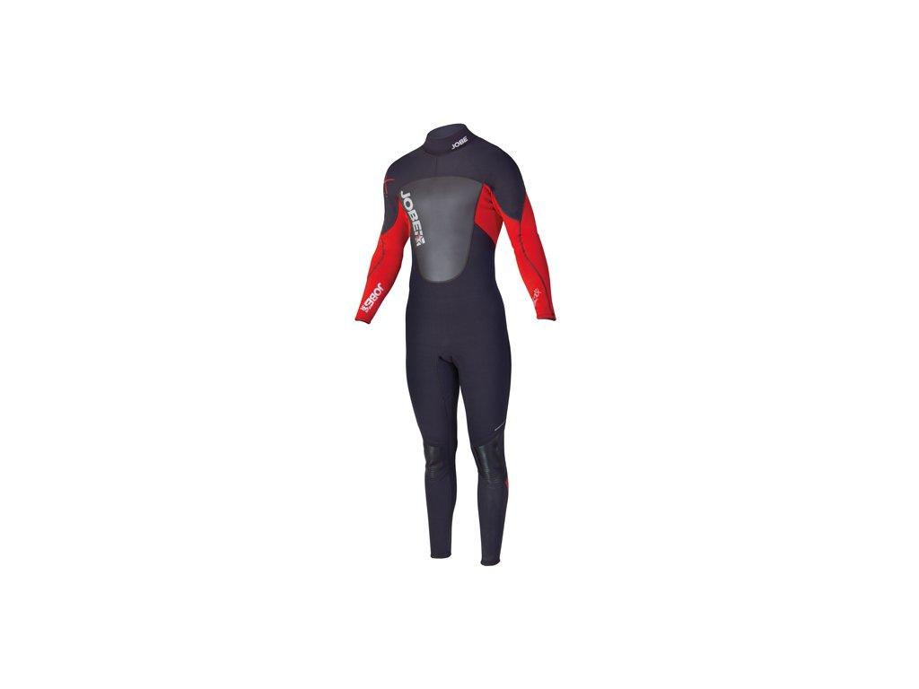 jobe progress remix 3 25 wetsuit heren rood front
