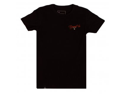 tshirt gassed up black front