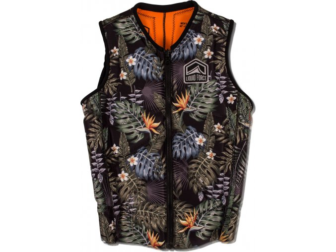 Liquid Force Z-CARDIGAN TROPICAL (Velikost vesty XL)