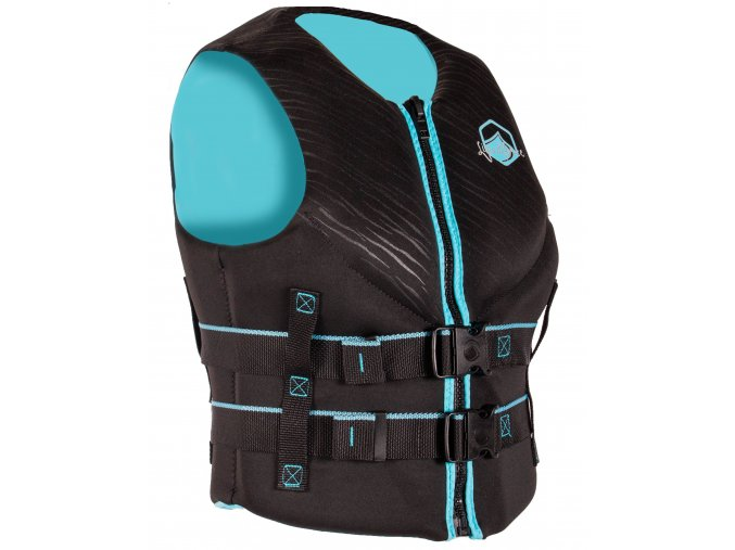 2020 LF VESTS 2019 HINGE BLACK AQUA 34