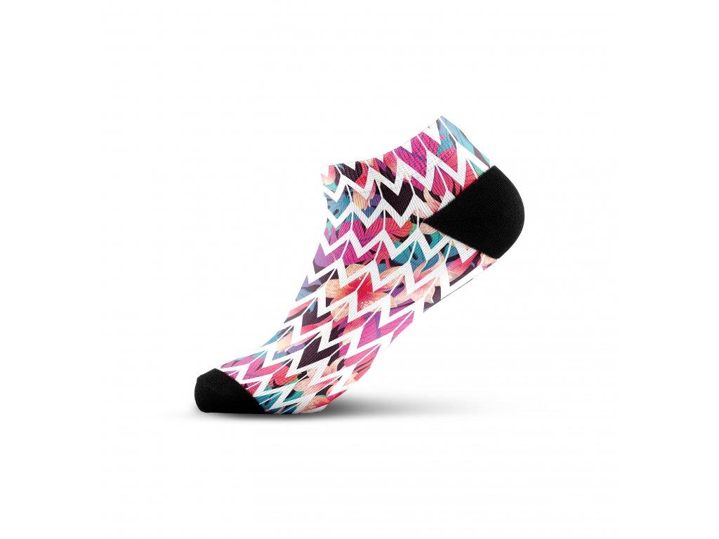 Walkee barevné kotníkové ponožky - Waypoint