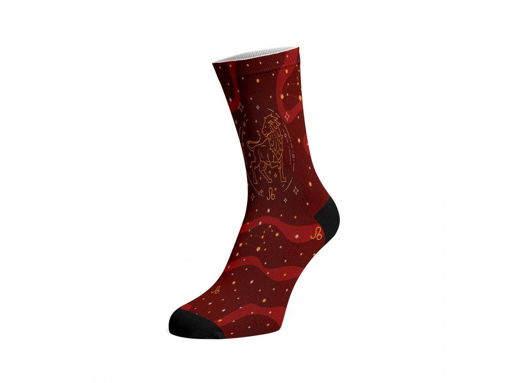 Walkee barevné ponožky - Znamení zvěrokruhu Lev