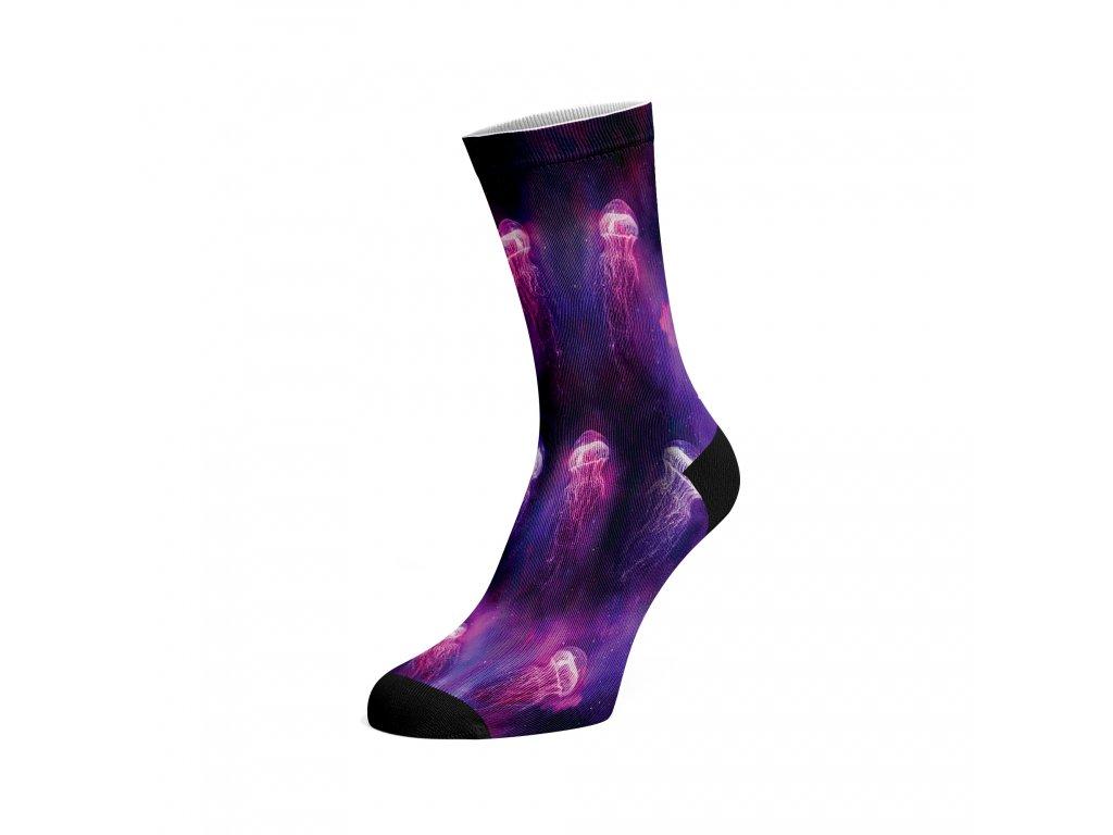 Walkee barevné ponožky - Medúzy