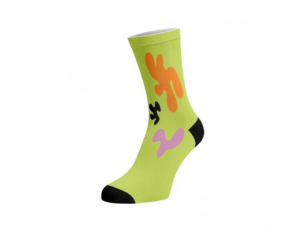 Walkee barevné ponožky - Colour Organics