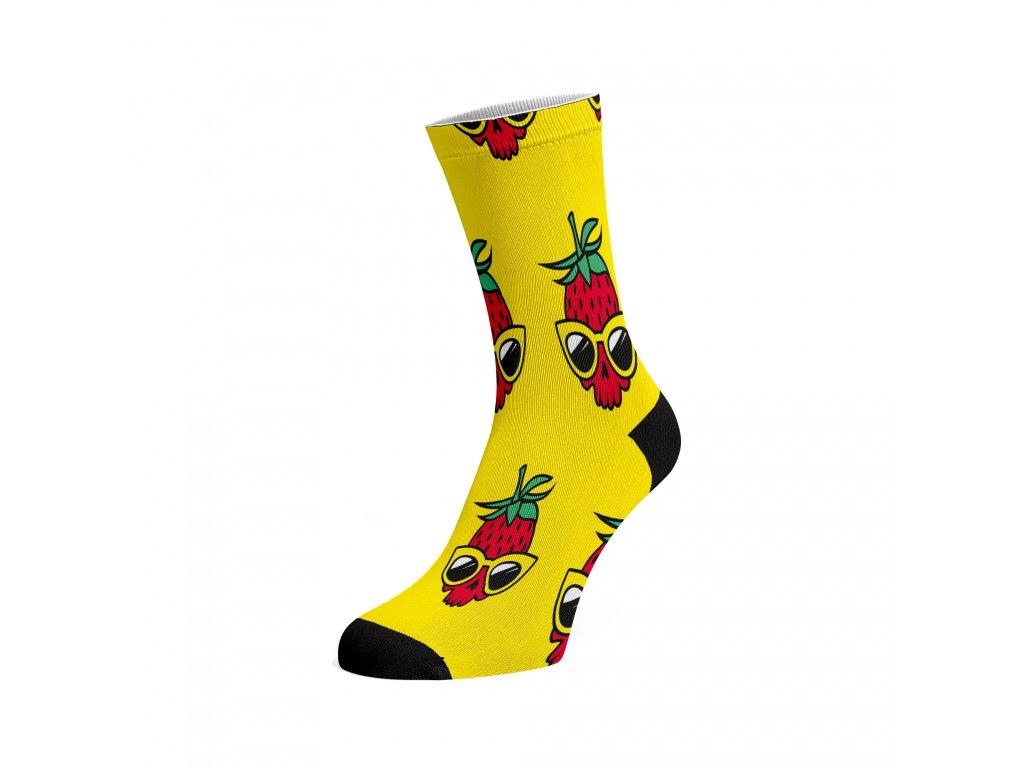 Walkee barevné ponožky -  Strawberry chill