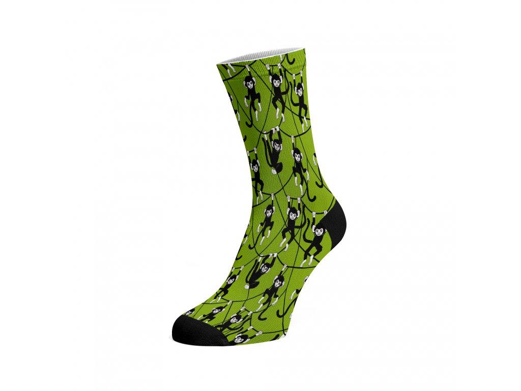 Walkee barevné ponožky - Monkeys