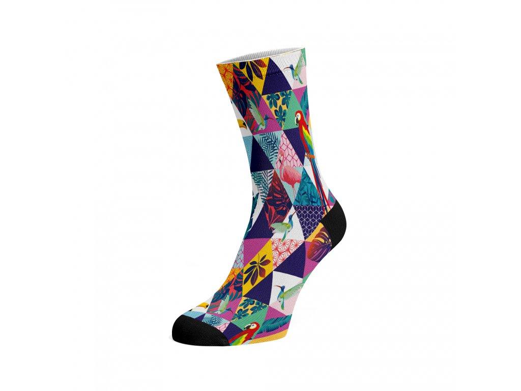 Walkee barevné ponožky - Triangle Vision