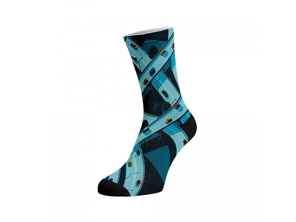 Walkee barevné ponožky - Road