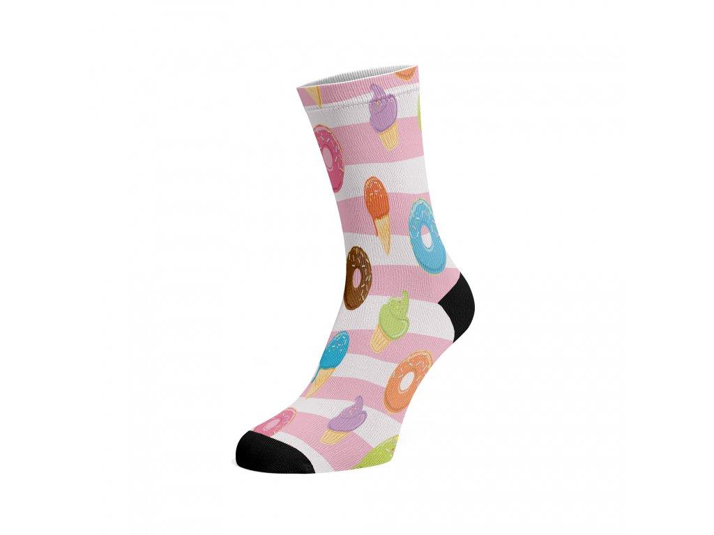 Walkee barevné ponožky - Donuts