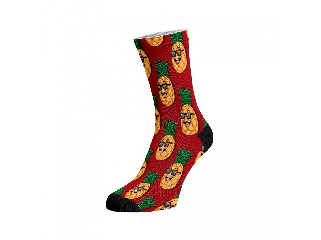 Walkee barevné ponožky - Pineapple party