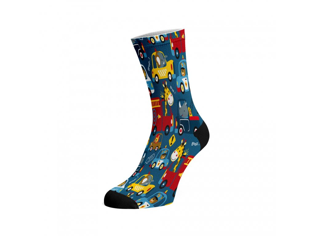Walkee barevné kotníkové ponožky - Beers