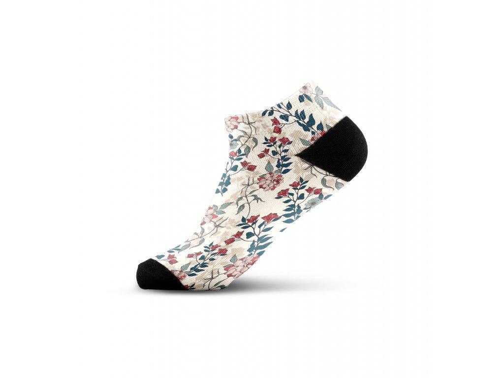 Walkee barevné kotníkové ponožky - Flowee