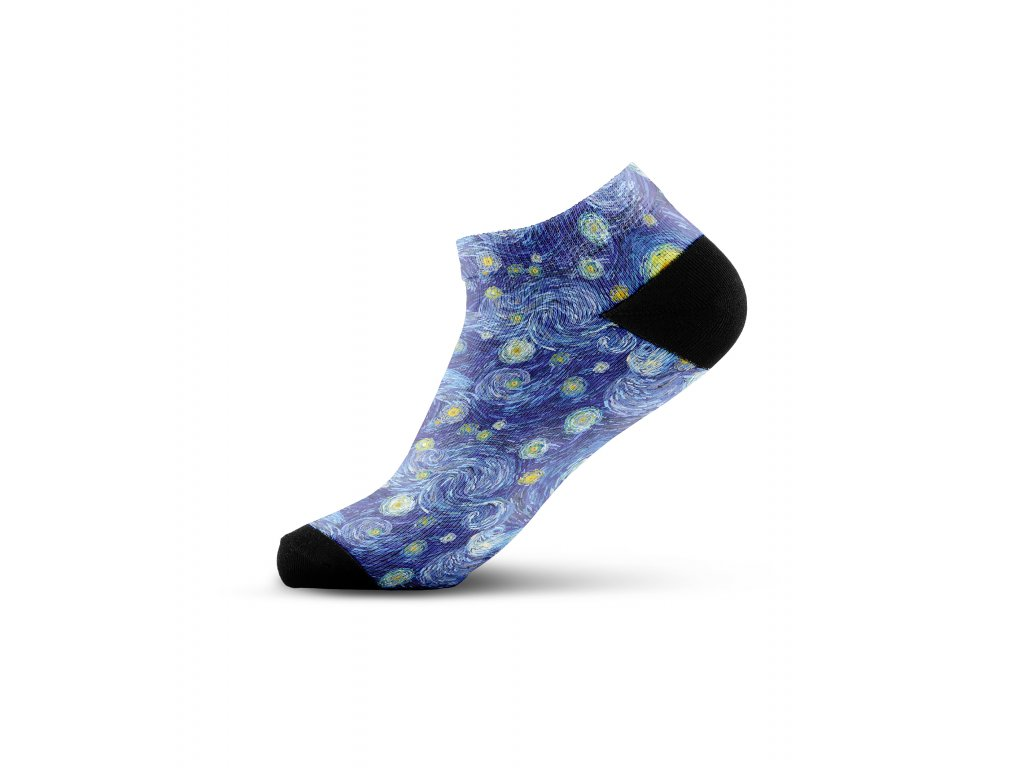 Walkee barevné kotníkové ponožky - Night