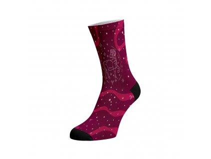 Walkee barevné ponožky - Znamení zvěrokruhu Beran