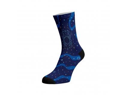 Walkee barevné ponožky - Znamení zvěrokruhu Rak