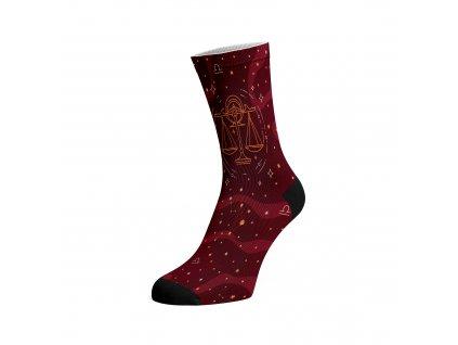 Walkee barevné ponožky - Znamení zvěrokruhu Váhy