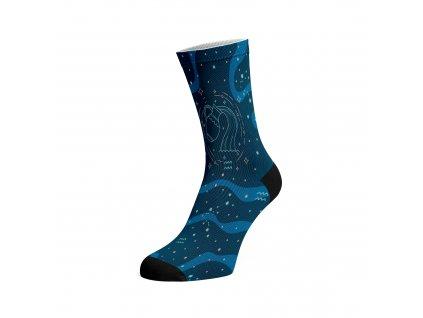 Walkee barevné ponožky - Znamení zvěrokruhu Vodnář