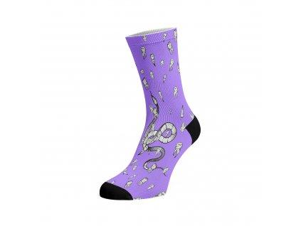 Walkee barevné ponožky - Hadi a Zuby