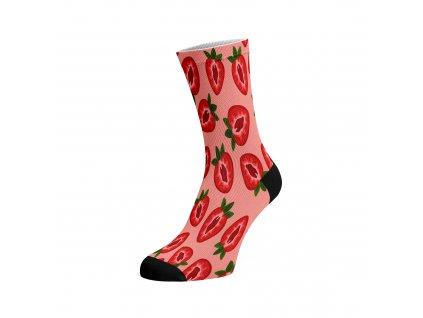 Walkee barevné ponožky - Jahody