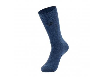 Walkee ponožky z merino vlny - modré