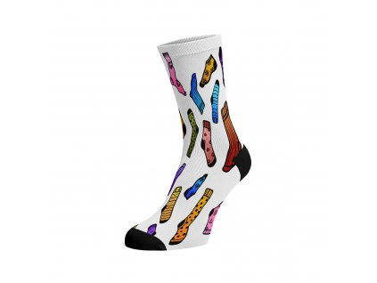 Walkee barevné ponožky - fusakle