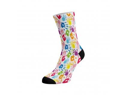Walkee barevné ponožky - Colours touch