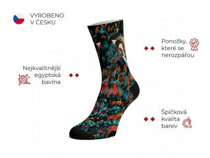 Walkee barevné ponožky - Diablo