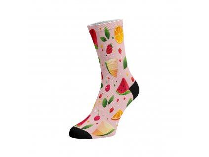 Walkee barevné ponožky -  Sweet fruits
