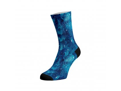 Walkee barevné ponožky - Space waves