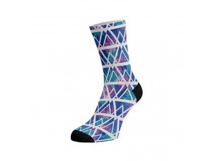 Walkee barevné ponožky -  Jungle Triangle