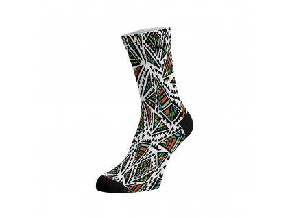 Walkee barevné ponožky - Pyramid