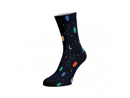 Walkee barevné ponožky -  Night Sky
