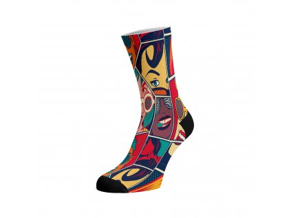 Walkee barevné ponožky - Comix