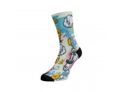 Walkee barevné ponožky - Crazy Dream